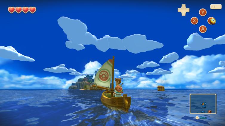 Oceanhorn - Monster of Uncharted Seas Screenshot 1