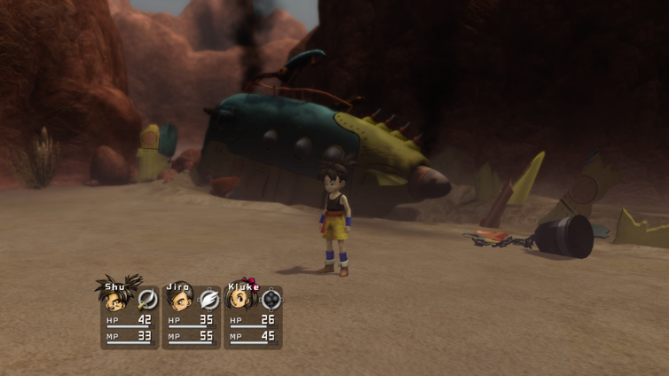 Blue Dragon Screenshot 1