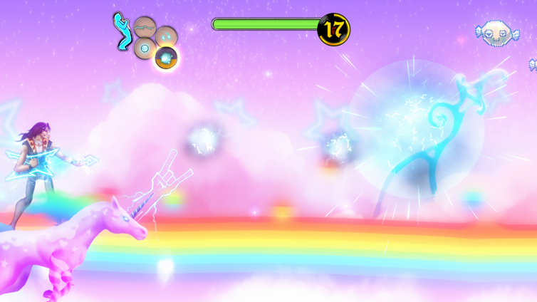 Air Guitar Warrior Gamepad Edition Screenshot 2