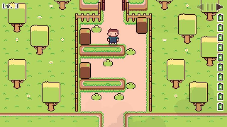 Super Box Land Demake Screenshot 2