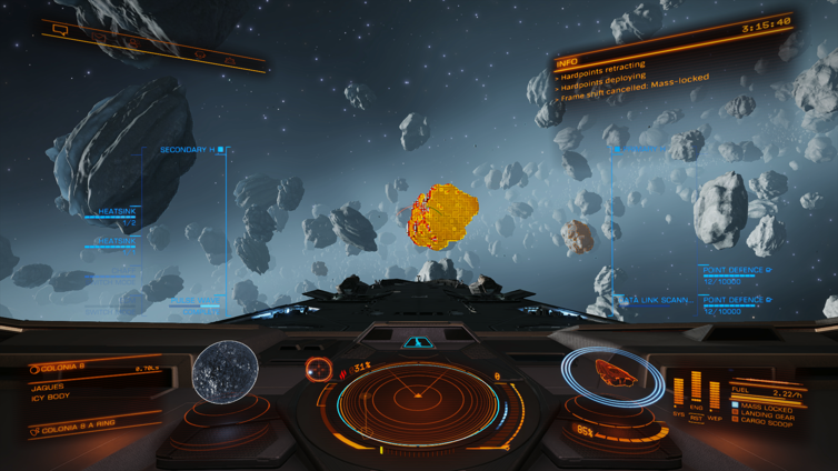 Split Decision Achievement in Elite: Dangerous