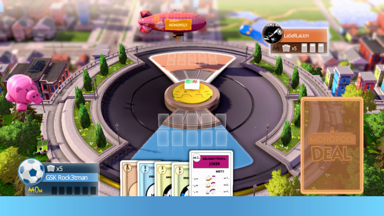 MONOPOLY Deal (Xbox 360) Screenshot 1