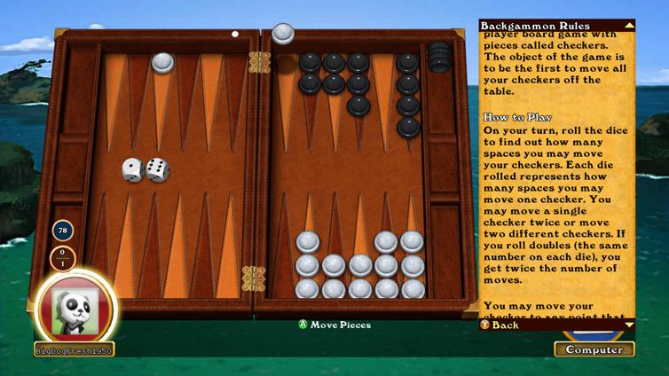 Hardwood Backgammon Screenshot 2