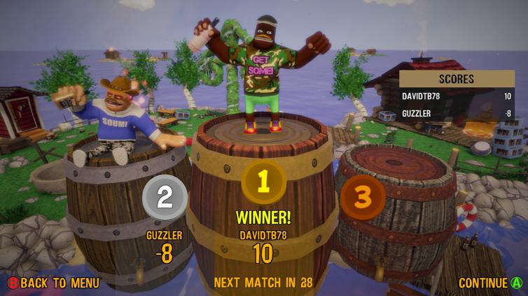 Drunk-Fu: Wasted Masters Screenshot 1