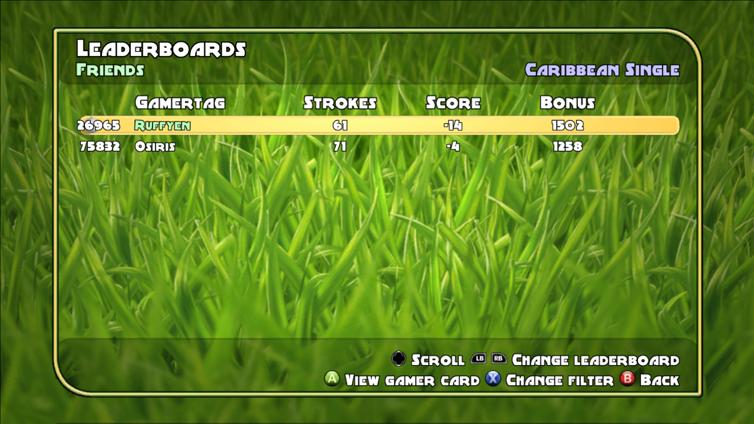 Golf: Tee It Up! Screenshot 1